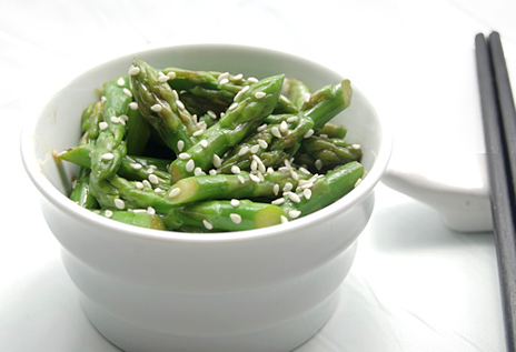 Shandong-style Asparagus – lightly stir fried with soy sauce, sesame ...
